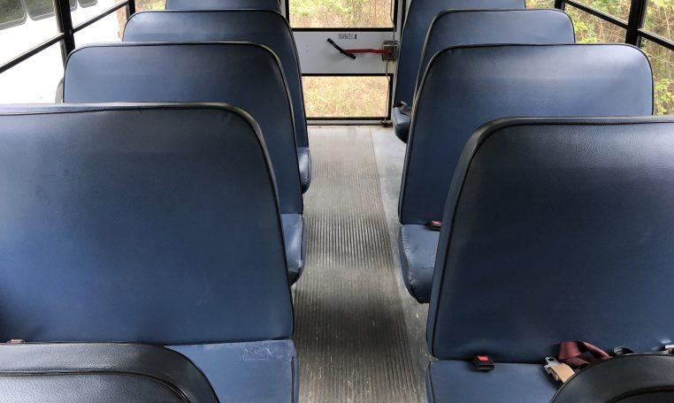 seating arrangement for school bus