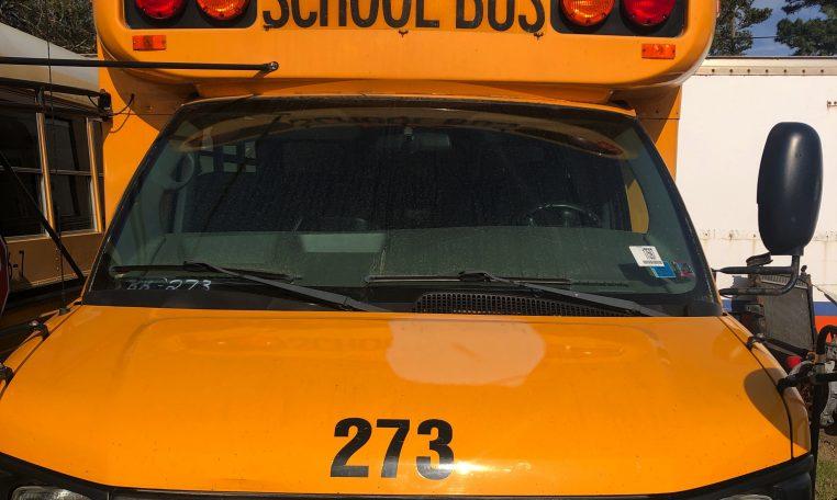 GMC exterior school bus mini